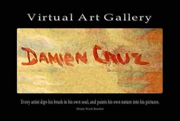 Damien Cruz Virtual Art Gallery